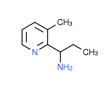 [1-(3-Methylpyridin-2-yl)propyl]amine