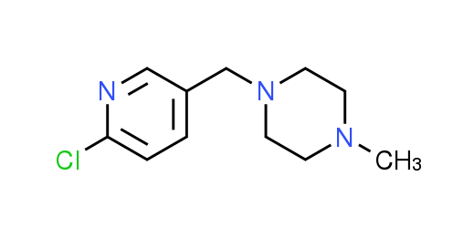 1-[(6-Chloropyridin-3-yl)methyl]-4-methylpiperazine