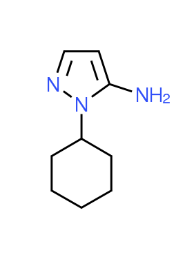 1-Cyclohexyl-1H-pyrazol-5-amine