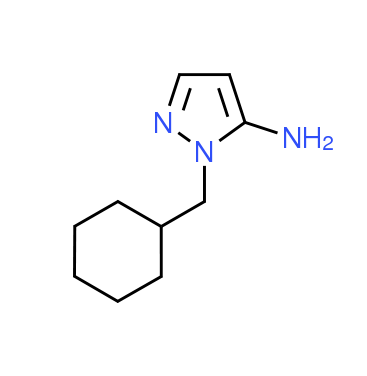 1-(Cyclohexylmethyl)-1H-pyrazol-5-amine