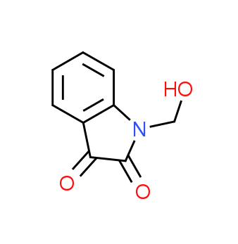 1-(Hydroxymethyl)-1H-indole-2,3-dione