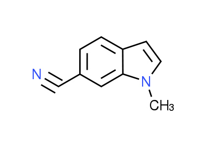 1-Methyl-1H-indole-6-carbonitrile