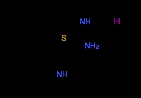 (1H-Indol-3-ylsulfanyl)methanimidamide hydroiodide
