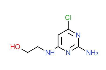 2-[(2-Amino-6-chloropyrimidin-4-yl)amino]ethanol
