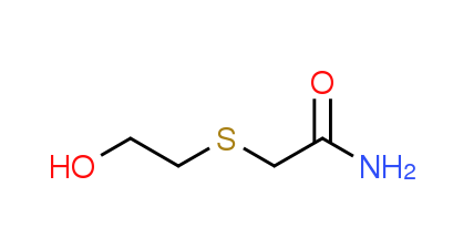 2-[(2-Hydroxyethyl)thio]acetamide