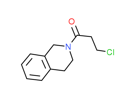 2-(3-Chloropropanoyl)-1,2,3,4-tetrahydroisoquinoline