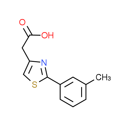 [2-(3-Methylphenyl)-1,3-thiazol-4-yl]acetic acid
