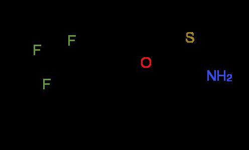 2-[3-(Trifluoromethyl)phenoxy]ethanethioamide