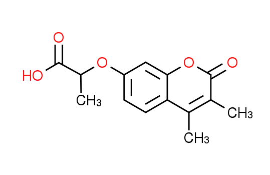 2-[(3,4-Dimethyl-2-oxo-2H-chromen-7-yl)oxy]-propanoic acid