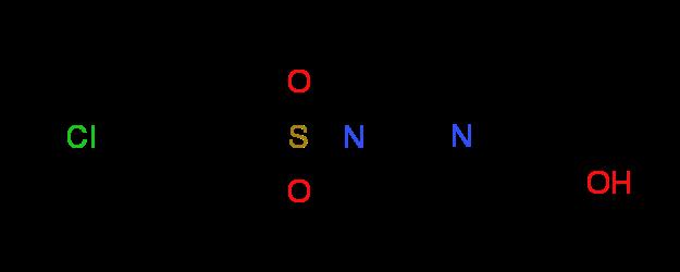 2-{4-[(4-Chlorophenyl)sulfonyl]piperazino}-1-ethanol