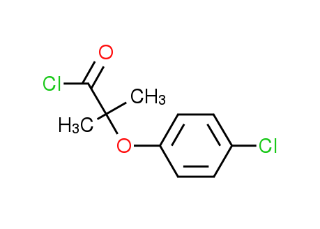 2-(4-Chlorophenoxy)-2-methylpropanoyl chloride