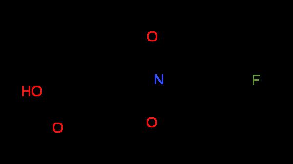 2-(4-Fluorophenyl)-1,3-dioxoisoindoline-5-carboxylic acid
