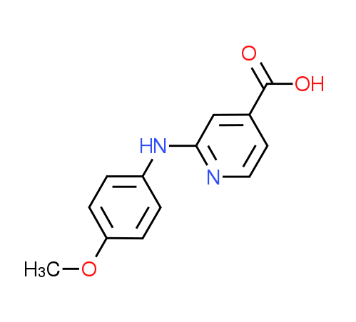 2-(4-Methoxyanilino)isonicotinic acid