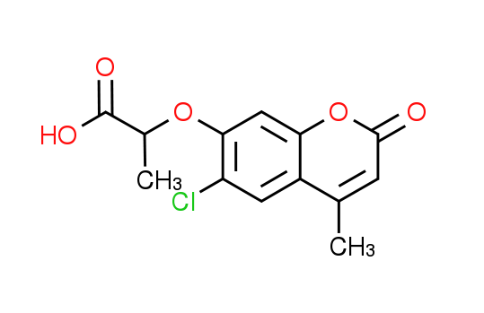 2-[(6-Chloro-4-methyl-2-oxo-2H-chromen-7-yl)oxy]-propanoic acid