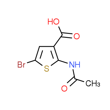 2-(Acetylamino)-5-bromo-3-thiophenecarboxylic acid