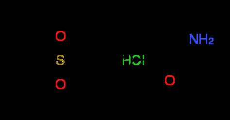 2-Amino-1-[4-(methylsulfonyl)phenyl]-1-ethanone^hydrochloride