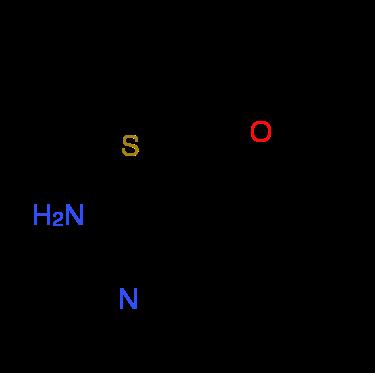 2-Amino-4,4,6,6-tetramethyl-4,6-dihydrothieno-[2,3-c]furan-3-carbonitrile