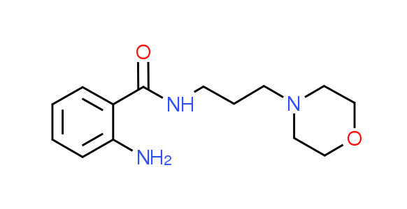 2-Amino-N-(3-morpholin-4-ylpropyl)benzamide