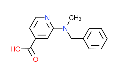 2-[Benzyl(methyl)amino]isonicotinic acid