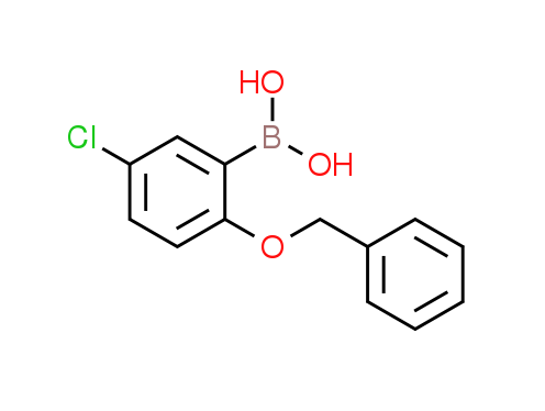 2-Benzyloxy-5-chlorophenylboronic acid