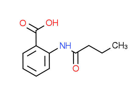 2-(Butyrylamino)benzoic acid