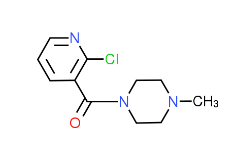 (2-Chloro-3-pyridinyl)(4-methyl-1-piperazinyl)-methanone