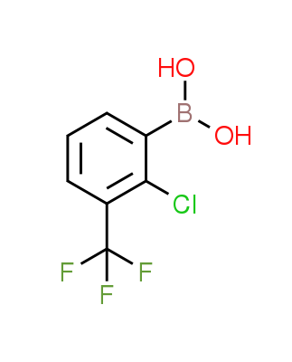 2-Chloro-3-(trifluoromethyl)phenylboronic acid