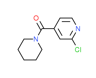 2-Chloro-4-(piperidin-1-ylcarbonyl)pyridine
