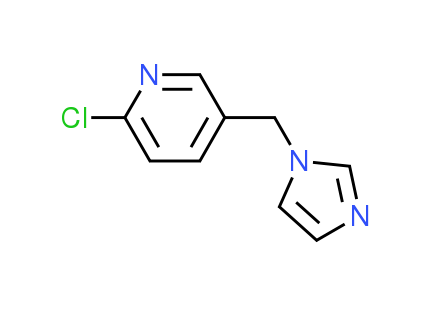 2-Chloro-5-(1H-imidazol-1-ylmethyl)pyridine