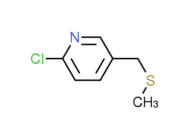 2-Chloro-5-[(methylthio)methyl]pyridine