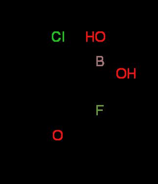 2-Fluoro-3-methoxy-6-chlorophenylboronic acid