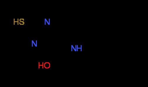 2-Mercapto-6-phenyl-5H-pyrrolo-[3,2-d]pyrimidin-4-ol
