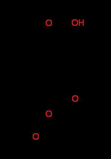 (2E)-3-[4-(Acetyloxy)-3-methoxyphenyl]acrylic acid