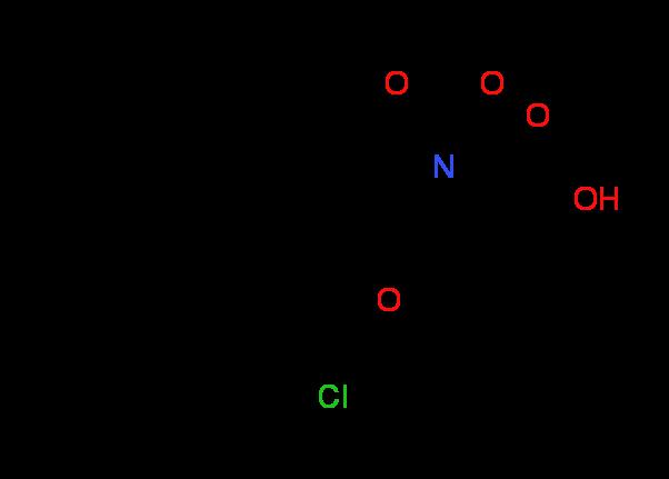 (2S,4S)-1-(tert-Butoxycarbonyl)-4-[4-(sec-butyl)-2^-chlorophenoxy]-2-pyrrolidinecarboxylic acid