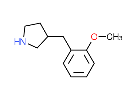 3-(2-Methoxybenzyl)pyrrolidine