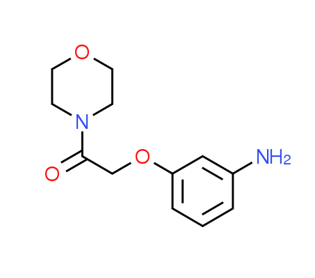 [3-(2-Morpholin-4-yl-2-oxoethoxy)phenyl]amine