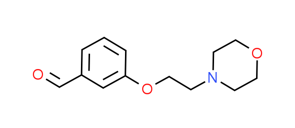 3-(2-Morpholin-4-ylethoxy)benzaldehyde