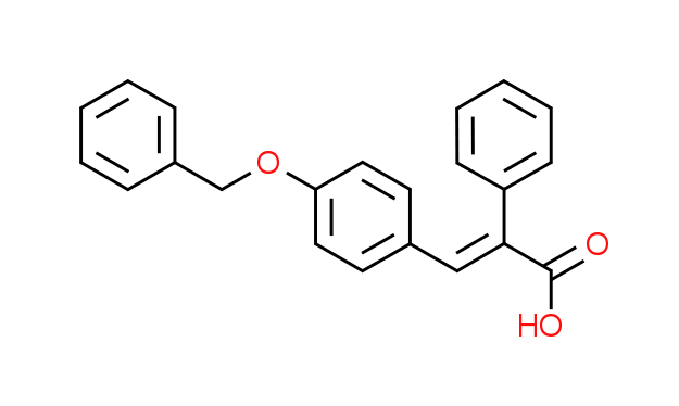 3-[4-(Benzyloxy)phenyl]-2-phenylacrylic acid