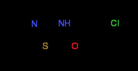 3-Chloro-N-1,3-thiazol-2-ylpropanamide