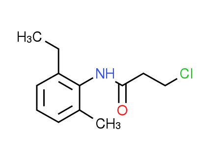 3-Chloro-N-(2-ethyl-6-methylphenyl)propanamide