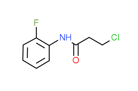 3-Chloro-N-(2-fluorophenyl)propanamide