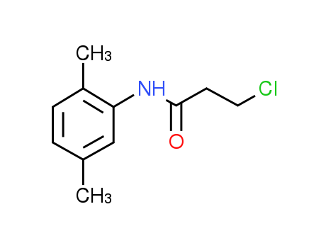 3-Chloro-N-(2,5-dimethylphenyl)propanamide