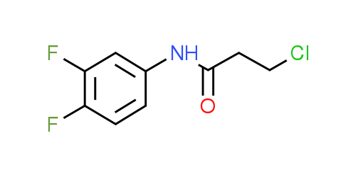 3-Chloro-N-(3,4-difluorophenyl)propanamide