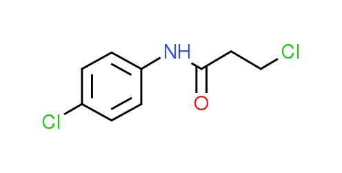 3-Chloro-N-(4-chlorophenyl)propanamide