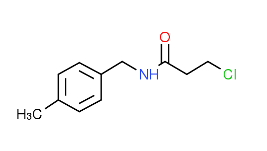 3-Chloro-N-(4-methylbenzyl)propanamide