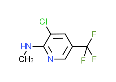 3-Chloro-N-methyl-5-(trifluoromethyl)-2-pyridinamine
