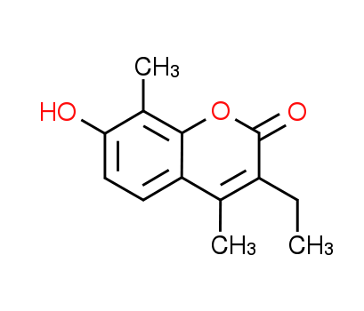3-Ethyl-7-hydroxy-4,8-dimethyl-2H-chromen-2-one
