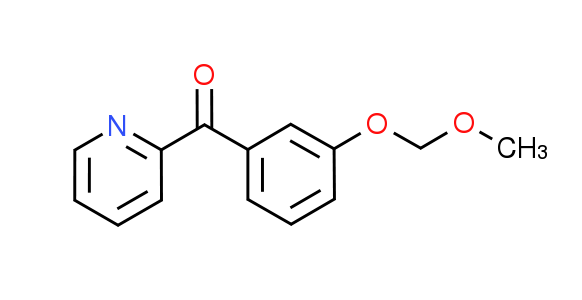 [3-(Methoxymethoxy)phenyl](pyridin-2-yl)methanone
