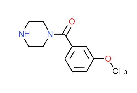 (3-Methoxyphenyl)(1-piperazinyl)methanone