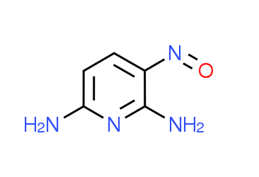 3-Nitrosopyridine-2,6-diamine